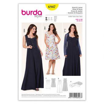 Patron Burda 6947 Robe et veste