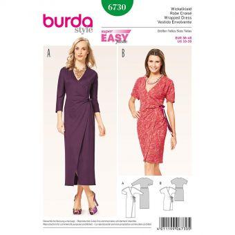 Patron Burda 6733 Jupe