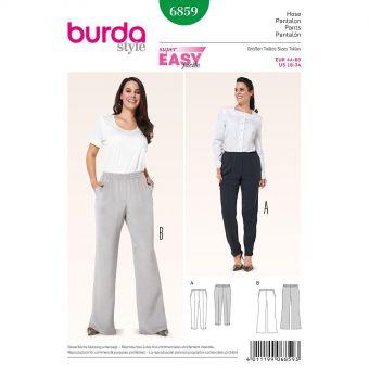 Patron Burda 6859 Pantalon