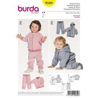 Patron Burda Kids 9349 Veste et pantalon