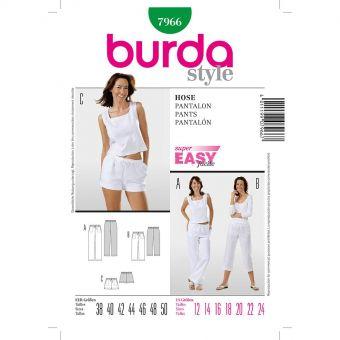 Patron Burda 7966 Pantalon