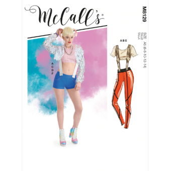 Patron McCall's 8129 Costume Comics du 34 au 50