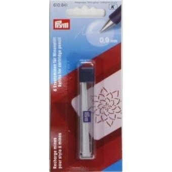 Recharge mines pour stylo à mines, blanc