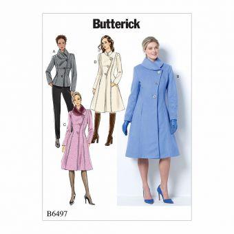 Patron Butterick 6497 Veste et manteau