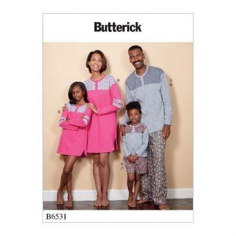 Patron Butterick 6531 Vêtements de nuit