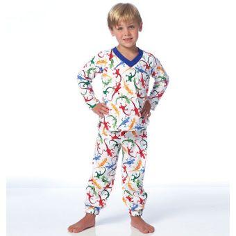 Patron Butterick 6126 Hauts, short et pantalon garçon, tailles 2 à 5 ans et 6 à 8 ans
