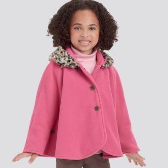 Patron Simplicity 9197 - Cape et Poncho Enfant de 3 à 8 ans (97 à 132 cm)