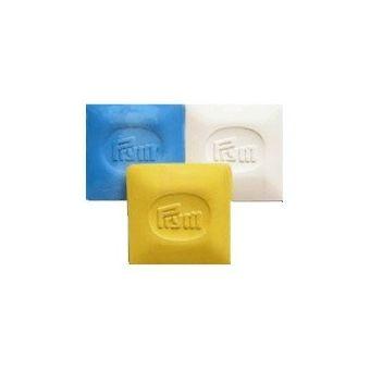 Craie tailleur 50 x 50 mm - à la pièce - blanc ou  bleu oujaune