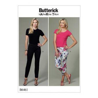 Patron Butterick 6461 Pantalon femme de 36 à 52