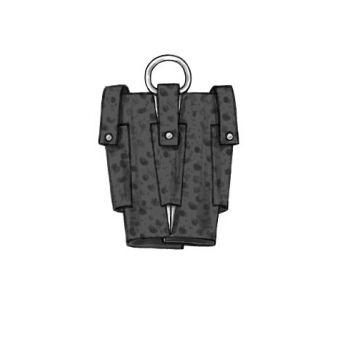 Patron Butterick 5936 Sac historique,porte - bouteille et petits sacs