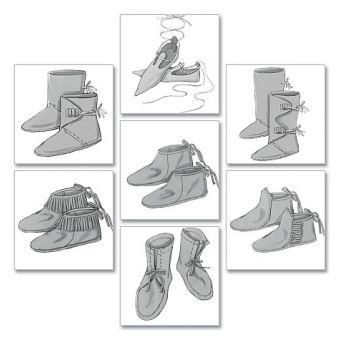 Patron Butterick 5233 Chaussures historiques