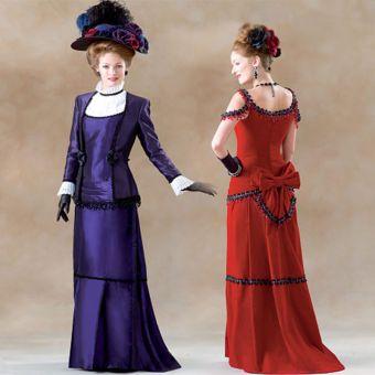 Patron VAULT by McCall's 2031 Robe femme époque victorienne de 34 à 50