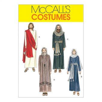 Patron McCall's 2060 Costumes religieux Péplum