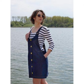 Patron Lot of Things BELETTE - Robe salopette Femmedu 34 au 48