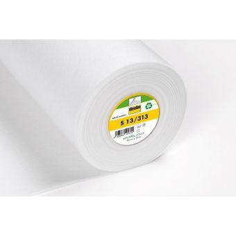 Vlieseline - S13 - Entoilage à coudre stable et compact - blanc - 90 cm - vendu au mètre