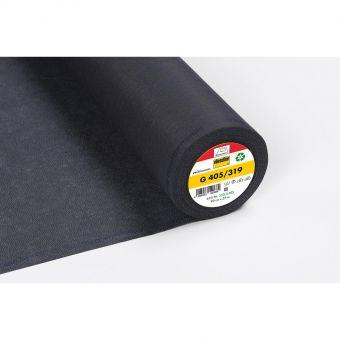 Vlieseline - G 405 - Entoilage thermocollant souple - anthracite - 90cm - vendu au mètre