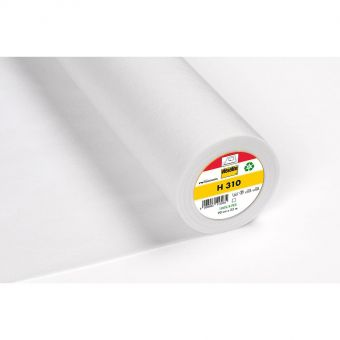 Vlieseline - H310 - Entoilage thermocollant pour petites pièces et ameublement - blanc -  90 cm - vendu au mètre