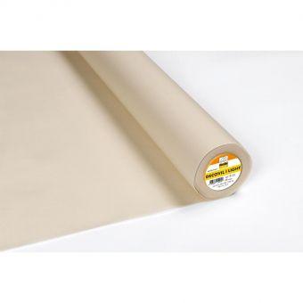 Vlieseline - DECOVIL I LIGHT Entoilage thermocollant aspect cuir 90cm - Beige - vendu au mètre
