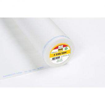 Vlieseline - F220 - Entoilage thermocollant léger - blanc - 90cm - vendu au mètre