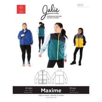 Patron Jalie 4012 MAXIME - Blouson 3 saisons Enfants, Unisex et grandes tailles