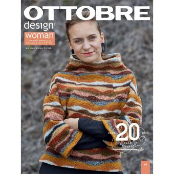 Revue Ottobre 2020 - 5: Femme Automne/ Hiver 2020 du  34 au 52 ( 20 modèles)
