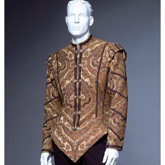 Patron VAULT by McCall's 2002 Veste Pourpoint homme Renaissance 36 à 48