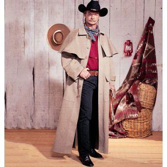 Patron VAULT by McCall's 2037 Costume homme Western Cow - Boy XIXe siècle XS à XL