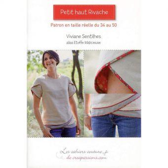 Livre 'Petit haut Rivache' de Sophie De Luzan - Les cahiers de couture de Créapassions