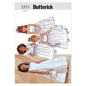 Patron Butterick 3351 Veste et robe filles, facile