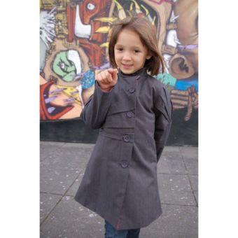 Patron Lalimaya Manteau Origami fille 2 à 12 ans