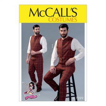 Patron McCall's 7399 Patron de costume vintage pour homme