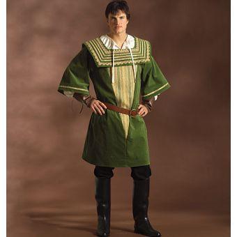 Patron VAULT by McCall's 2019 Costume homme Renaissance de 36 à 50
