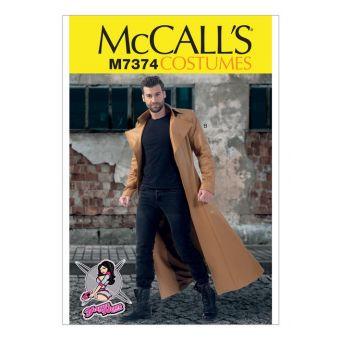 Patron McCall's 7374 Patron de longs manteaux princesses par Yaya Han - Homme