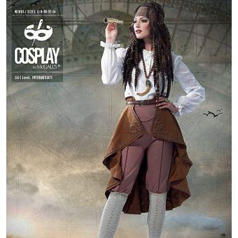 Patron Brand by McCall's 2085 WAYFARESS - Déguisement Pirate Femme