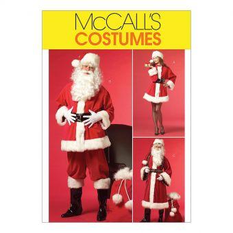 Patron McCall's 5550 Patron déguisements et accessoires Mère Noël et Père Noël
