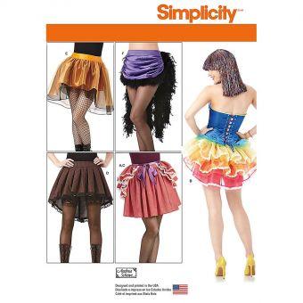 Patron Simplicity 7819 Jupes déguisements