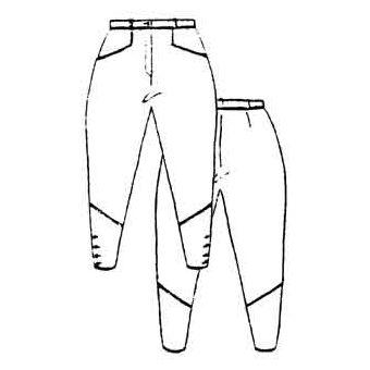 Patron Frégoli 524 - Pantalon équitation Jodhpurs femme 46 à 52