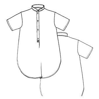Patron Frégoli 521 - Chemise de nuit jeune maman 38 à 52
