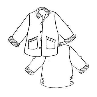 Patron Frégoli 511 - Veste style «chasse» adulte 38 à 46