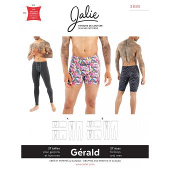 Patron Jalie 3885 Sous - vêtements - Gérald