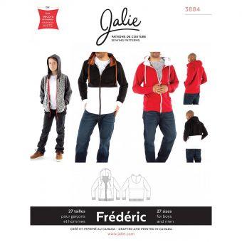 Patron Jalie 3884 Veste à capuche - Frédéric