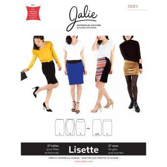 Patron Jalie 3883 Jupe crayon - Lisette