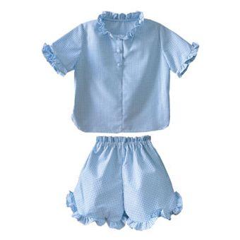 Patron Frégoli 427 - Pyjama court deux pièces adolescent 12 à 16 ans
