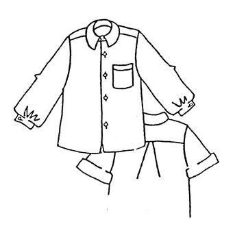 Patron Frégoli 416 - Chemise classique garçon 12 à 16 ans