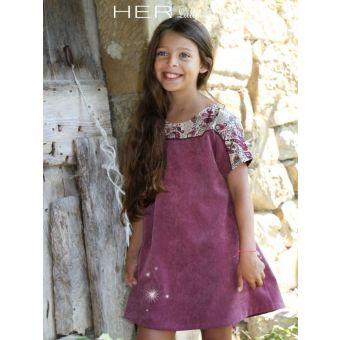 Her Little World - Patron Robe SPONTANEE fille de 2 à 10 ans