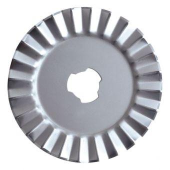Lame Fiskars 1343 - zigzag 45 mm diamètre