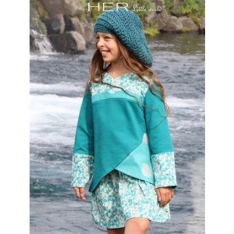 Her Little World - Patron Tunique GOURMANDE fille de 2 à 10 ans