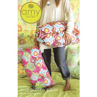 Patron Amy Butler 047PA Oval Patchy - Coussin