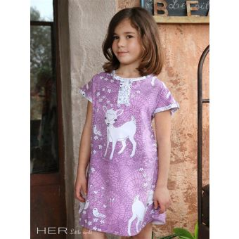 Her Little World - Patron Robe ENSOLEILLEE de 2 à 12 ans