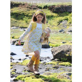 Her Little World - Patron Robe CRISTALLINE fille de 2 à 10 ans